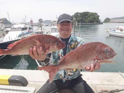 丸銀釣りセンターの2019年5月26日(日)1枚目の写真