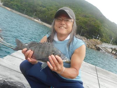 由良海つり公園&釣堀ランドの2019年6月18日(火)1枚目の写真