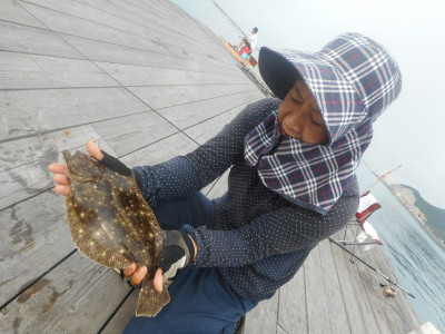 由良海つり公園&釣堀ランドの2019年6月19日(水)1枚目の写真
