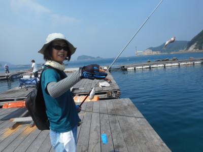 由良海つり公園&釣堀ランドの2019年6月22日(土)1枚目の写真