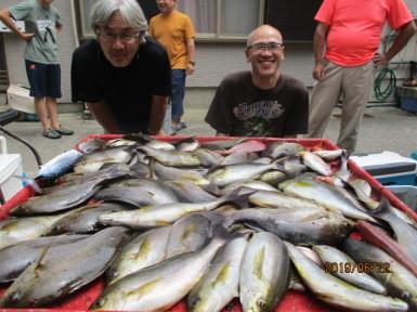奥村釣船の2019年6月22日(土)2枚目の写真