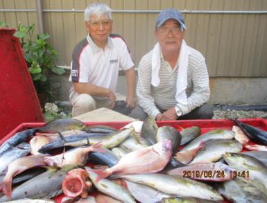 奥村釣船の2019年6月24日(月)1枚目の写真