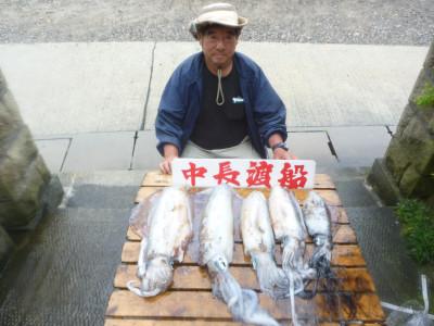 中長渡船の2019年6月26日(水)1枚目の写真