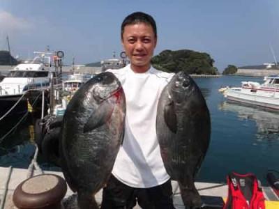 丸銀釣りセンターの2019年6月22日(土)1枚目の写真