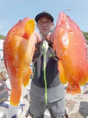 丸銀釣りセンターの2019年6月23日(日)3枚目の写真