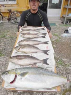 丸銀釣りセンターの2019年6月27日(木)1枚目の写真