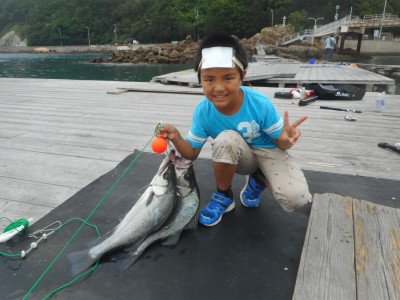 由良海つり公園&釣堀ランドの2019年6月29日(土)1枚目の写真