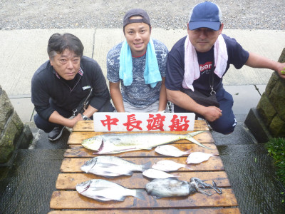 中長渡船の2019年7月14日(日)1枚目の写真