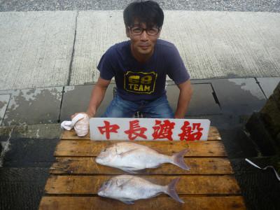 中長渡船の2019年7月21日(日)1枚目の写真