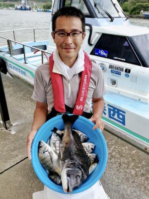 西森渡船の2019年7月22日(月)1枚目の写真