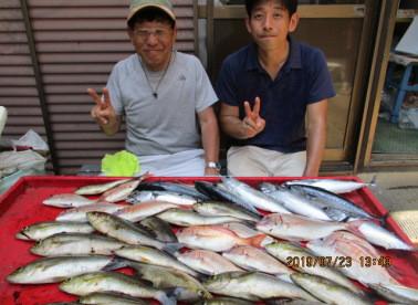 奥村釣船の2019年7月23日(火)3枚目の写真