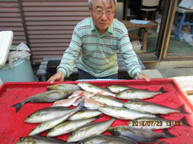 奥村釣船の2019年7月23日(火)4枚目の写真