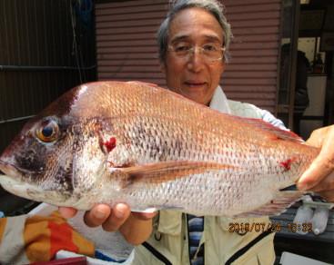 奥村釣船の2019年7月24日(水)1枚目の写真