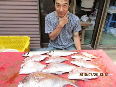奥村釣船の2019年7月25日(木)2枚目の写真