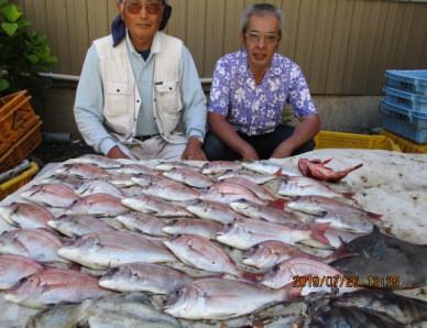 奥村釣船の2019年7月26日(金)1枚目の写真