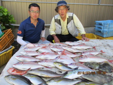 奥村釣船の2019年7月26日(金)2枚目の写真