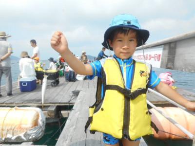 由良海つり公園&釣堀ランドの2019年7月28日(日)1枚目の写真