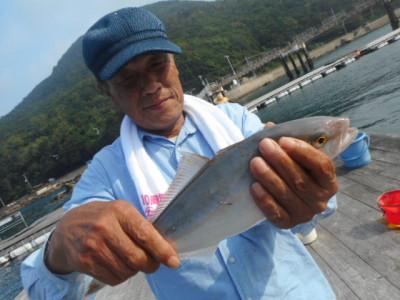 由良海つり公園&釣堀ランドの2019年7月28日(日)4枚目の写真