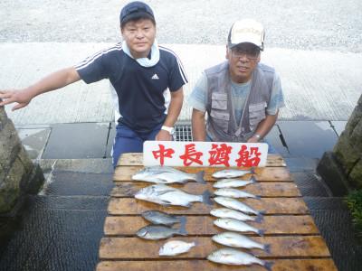 中長渡船の2019年7月28日(日)2枚目の写真