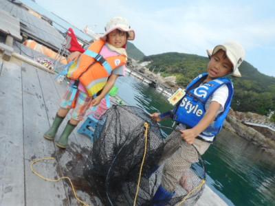 由良海つり公園&釣堀ランドの2019年7月29日(月)1枚目の写真
