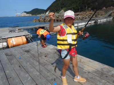由良海つり公園&釣堀ランドの2019年7月31日(水)1枚目の写真