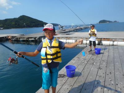 由良海つり公園&釣堀ランドの2019年7月31日(水)2枚目の写真