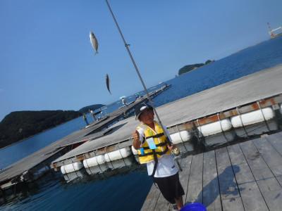由良海つり公園&釣堀ランドの2019年7月31日(水)3枚目の写真