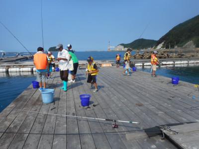 由良海つり公園&釣堀ランドの2019年7月31日(水)4枚目の写真