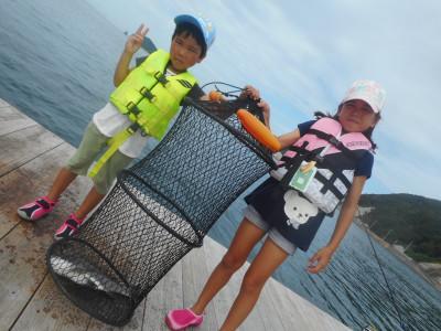 由良海つり公園&釣堀ランドの2019年8月21日(水)1枚目の写真