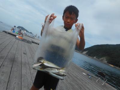 由良海つり公園&釣堀ランドの2019年8月21日(水)2枚目の写真