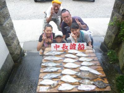 中長渡船の2019年8月21日(水)1枚目の写真