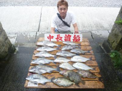 中長渡船の2019年8月22日(木)1枚目の写真