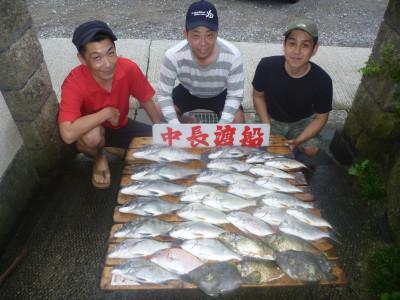中長渡船の2019年8月24日(土)1枚目の写真