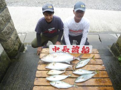 中長渡船の2019年8月24日(土)2枚目の写真