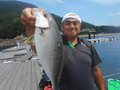 由良海つり公園&釣堀ランドの2019年8月25日(日)1枚目の写真