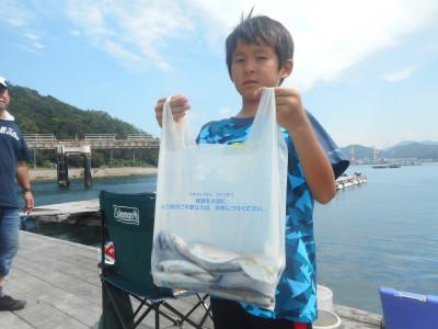 由良海つり公園&釣堀ランドの2019年8月25日(日)3枚目の写真