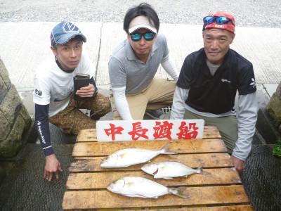 中長渡船の2019年8月25日(日)1枚目の写真