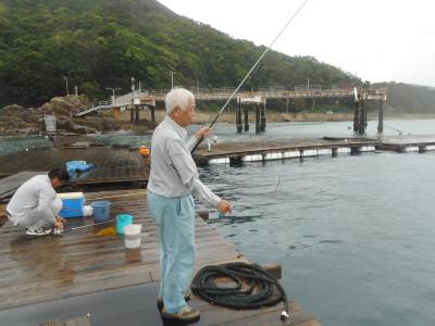 由良海つり公園&釣堀ランドの2019年8月28日(水)1枚目の写真