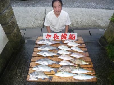 中長渡船の2019年8月31日(土)1枚目の写真