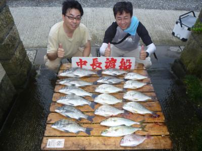 中長渡船の2019年8月31日(土)2枚目の写真