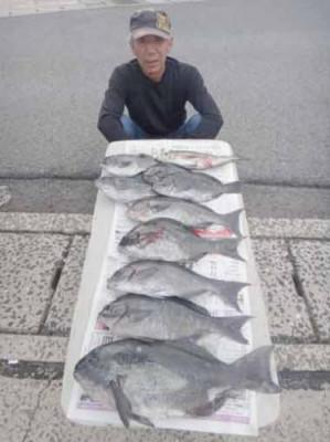 丸銀釣りセンターの2019年8月18日(日)3枚目の写真