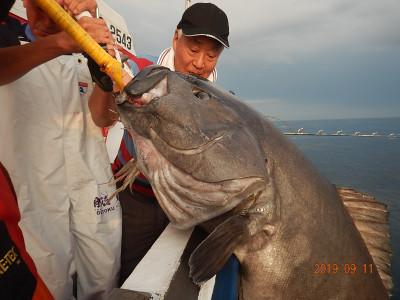 第十五隆栄丸の2019年9月11日(水)1枚目の写真