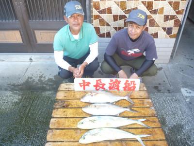 中長渡船の2019年9月14日(土)1枚目の写真