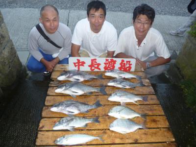 中長渡船の2019年9月15日(日)1枚目の写真