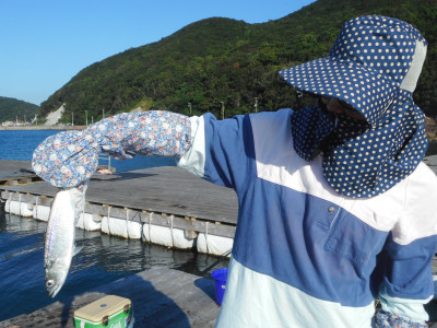 由良海つり公園&釣堀ランドの2019年9月17日(火)1枚目の写真