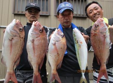 奥村釣船の2019年9月21日(土)2枚目の写真