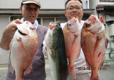 奥村釣船の2019年9月21日(土)3枚目の写真