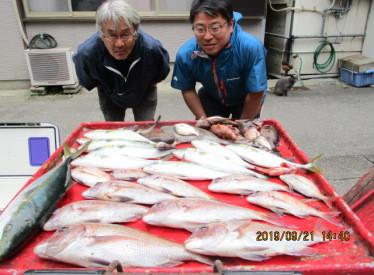 奥村釣船の2019年9月21日(土)4枚目の写真