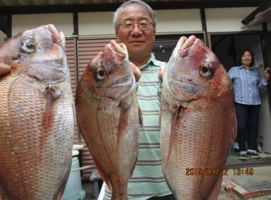 奥村釣船の2019年9月22日(日)1枚目の写真