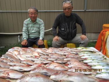奥村釣船の2019年9月22日(日)3枚目の写真